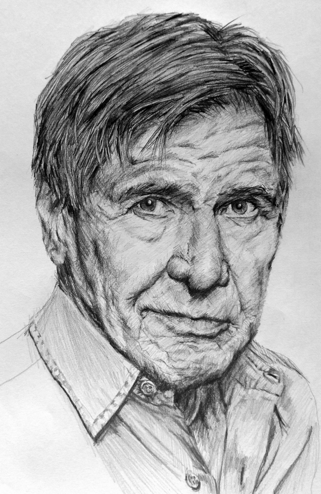 Harrison Ford by linshyhchyang